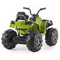 Детский квадроцикл M 3156 EBR зеленый, колеса EVA, MP3, USB, FM и пульт Bluetooth, фото 3