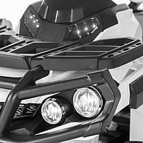 Детский квадроцикл M 3156 EBR белый, колеса EVA, MP3, USB, FM и пульт Bluetooth, фото 2