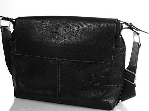 Кожаная черная мужская сумка ETERNO (ЭТЭРНО) ERM508B
