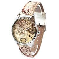 """Часы наручные арт """"Карта"""", фото 1"""