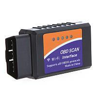 Адаптер для диагностики авто OBD2 ELM327 WI-FI, сканер для проведения беспроводной  диагностики автомобилей