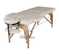 Массажный стол складной TEO (Дерево: бук, 2 секции)