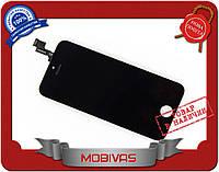 Модуль дисплей+сенсор Iphone 5S черный  копия