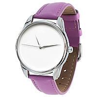 """Часы наручные """"Минимализм"""" фиолетовый, фото 1"""