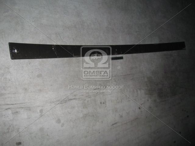 Лист передней рессоры №1запчасти автомобиля МАЗ 1980 мм (пр-во Чусовая)