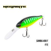 Воблер Megabite Samba 400 F (70 мм, 17,5гр, 4 m)№16