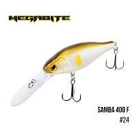 Воблер Megabite Samba 400 F (70 мм, 17,5гр, 4 m)№24
