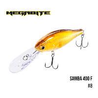 Воблер Megabite Samba 400 F (70 мм, 17,5гр, 4 m)№8