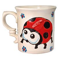 Чашка Божья коровка 280 мл