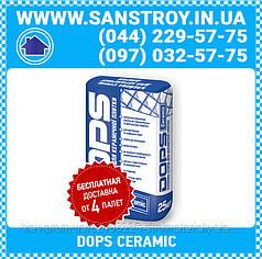 Клей для керамической плитки DOPS CERAMIC 25кг