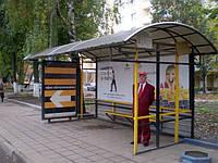 Реклама на остановках в Днепропетровске