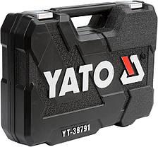 Набор инструментов 1/2'' 108пр L YATO YT-38791, фото 3
