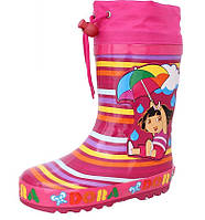 Резиновые сапоги детские, для девочки RT057