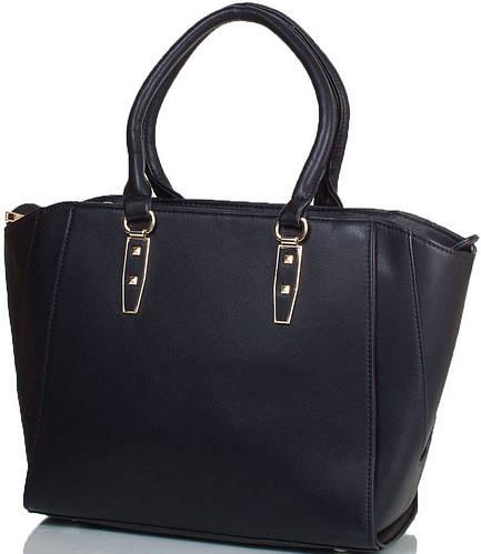 Женская черная сумка  ANNA&LI (АННА И ЛИ) TU14465-black (черный)