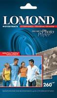 Lomond Суперглянцевая (Super Glossy) микропористая фотобумага для струйной печати, 10x15, 260 г/м2, 20 листов