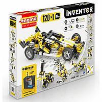 Конструктор серии INVENTOR MOTORIZED 120 в 1 с электродвигателем Engino 12030