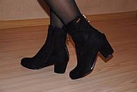 Женские ботиночки на невысоком каблуке