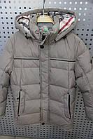 Куртка для мальчика зимняя SNOWIMAGE SIDMY-g904 Бежевый