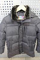 Куртка для мальчика зимняя SNOW IMAGE SIDMY-g905 Т.серый