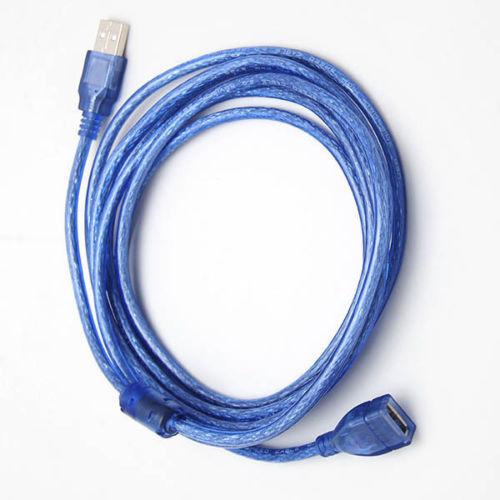 Кабель удлинитель USB 2.0 A/F 500см