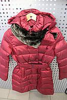 Куртка для девочки зимняя SNOW IMAGE SICBY-g705 Бордовый