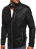 Мужская куртка из кожзама