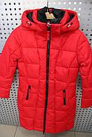 Куртка для девочки зимняя SNOW IMAGE SICBY-g708 Красный