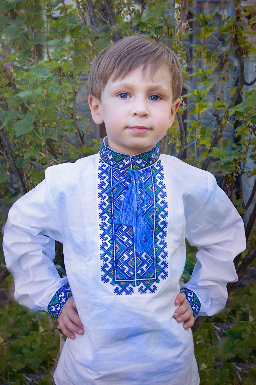 """Вышиванка для мальчика """"Миколка"""""""