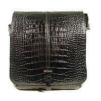 Сумка-планшет малая кожаная мужская черная Desisan 342-11 Турция, фото 1