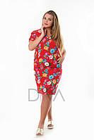 Платье Карман батал P01-26-1