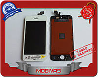 Тачскрин + дисплей на Iphone 5G, белый копия