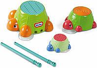 """Игровой набор для игр в ванной """"Черепашки-барабанчики"""" 632266M Little Tikes (632266M)"""