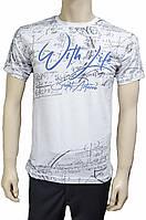 Белая мужская футболка. Турция
