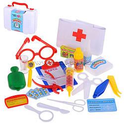 Детский игровой набор Доктор Волшебная Аптечка 2550, 24 предмета