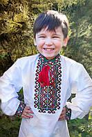 """Сорочка вышиванка для мальчика """"Мишко"""" стойкой воротник"""