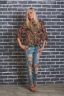Блуза женская узор, фото 1