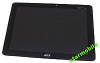 Дисплей для планшета Acer A700 Iconia Tab + сенсор черного цвета (high copy), фото 1