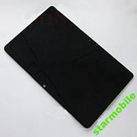 Дисплей для планшета Acer W510 Iconia Tab + сенсор черного цвета (high copy)