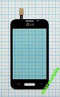 Сенсорный экран LG D160/L40 One Sim, черный, AAA