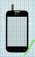 Сенсорный экран LG D170/L40 Dual Sim, черный, AAA