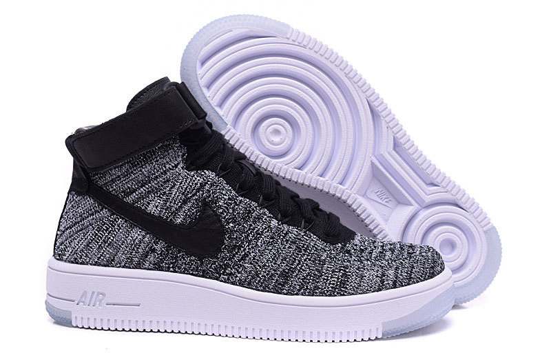 2ad6c67d Кроссовки женские Nike Air Force 1 High Ultra Flyknit / 1AFW-069 (Реплика)