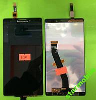Дисплей для мобильного телефона Lenovo K910/Vibe Z, черный, с тачскрином, ORIG