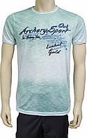 Зеленая мужская футболка. Турция