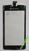 Сенсорный экран для мобильного телефона Lenovo S870e, черный