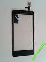 Сенсорный экран для мобильного телефона Lenovo S660, черный, High Copy, фото 1