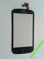 Сенсорный экран для мобильного телефона Lenovo A780, чёрный, high copy