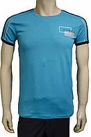 Бирюзовая мужская футболка Saviola. Турция