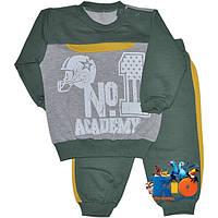 """Детский трикотажный костюм """"Academy"""" , для мальчиков (рост 68-74-80-86 см)"""