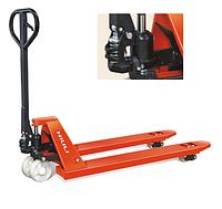 Ручная гидравлическая тележка для паллет Niuli CBY-JC2.0T, грузоподъемность 2000 кг, вилы 1150/550 мм