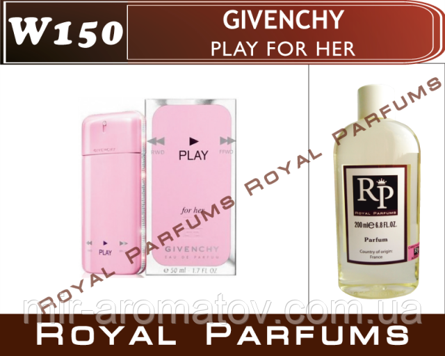 Женские духи на разлив Royal Parfums  Givenchy «Play For Her»№150    50 мл